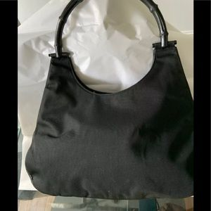 AUTHENTIC GUCCI JACKIE O HOBO BAG BAMBOO HANDLE